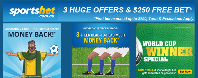 2014 World Cup Free Bets Bonuses And Refund Money Back Special Offers