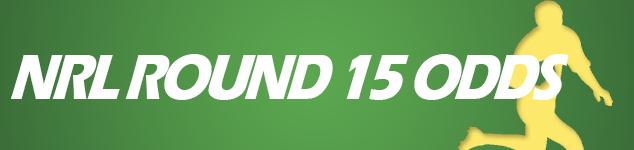 NRL Round 15 odds