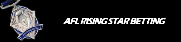 2017 AFL NAB Rising Star Odds and Betting tips